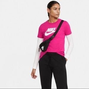 Nike Sportswear Magenta Essential Logo T-Shirt